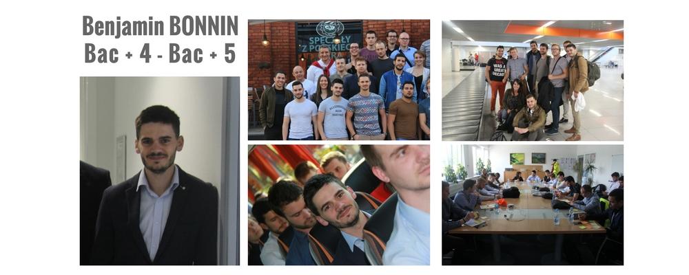 Benjamin Bonnin, son parcours à l'Institut supérieur de Promotion Industrielle