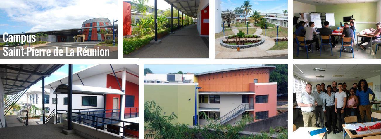 Le Campus St Pierre Ile de la Réunion