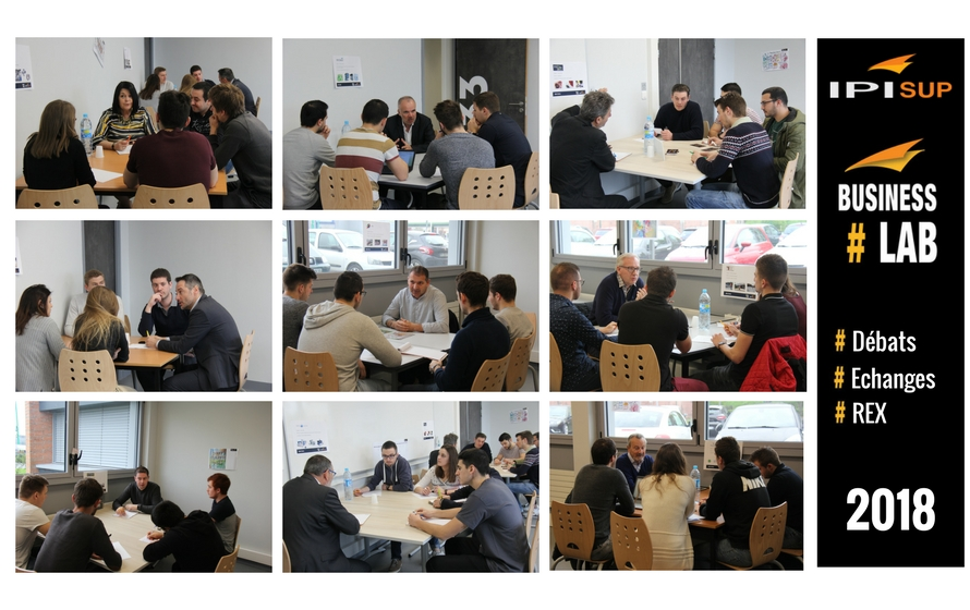 Business Lab : Des tables rondes animés par des dirigeants pour susciter l'envie d'entreprendre