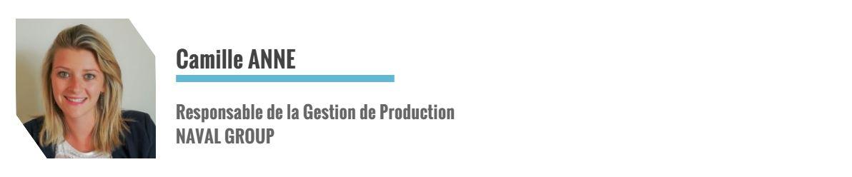 IPI, Camille ANNE, Responsable de la Prod chez NAVAL GROUP