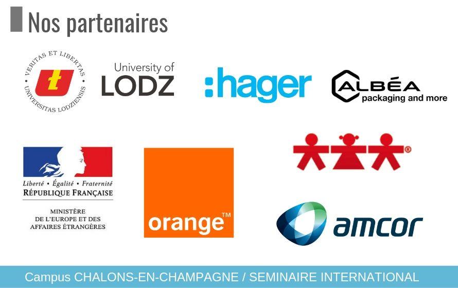 Séminaire à l'international : Nos partenaires