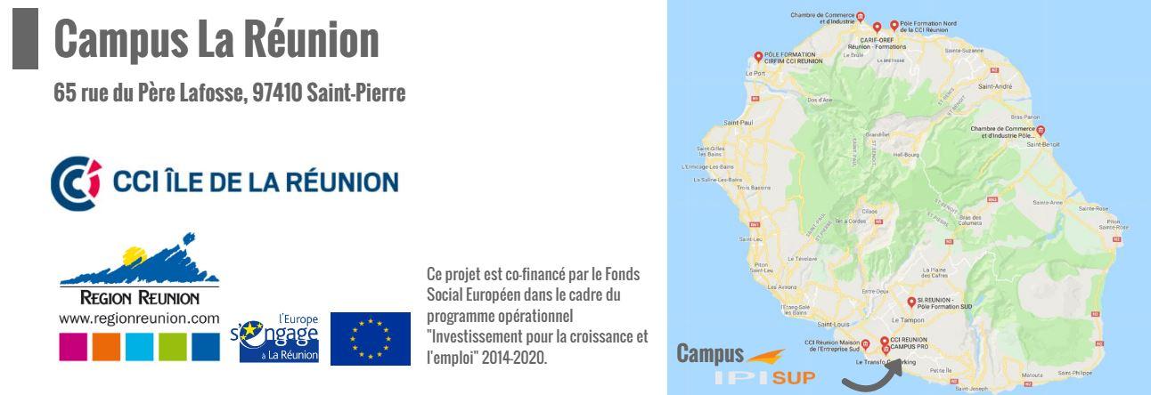Le campus IPI La Réunion
