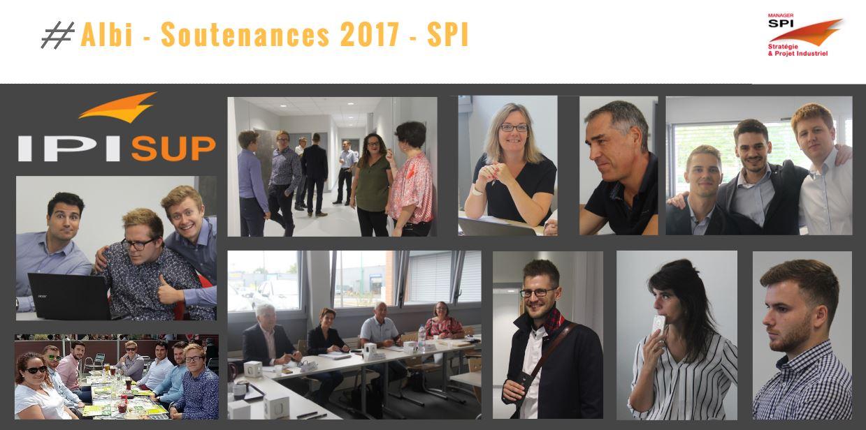 SPI, les soutenances de 2017